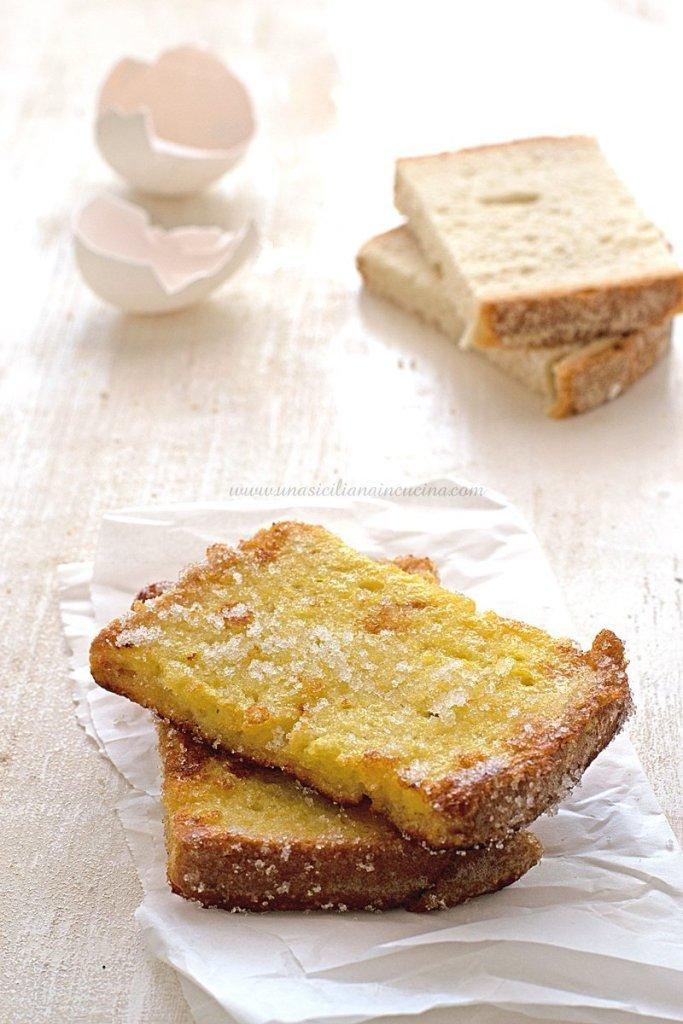 Pane fritto dolce e goloso