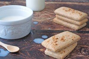 Biscotti integrali inzupposi
