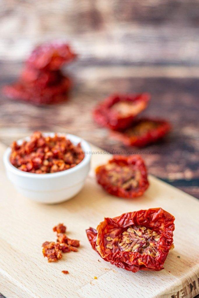Pomodori secchi e capuliato
