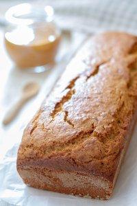 Banana bread al burro di arachidi