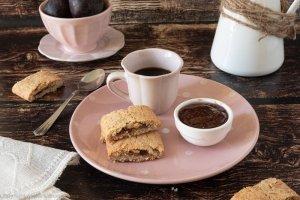 Biscotti integrali confettura di fichi