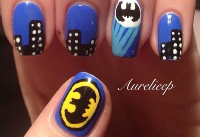 Uñas Pintadas De Batman Una Selección Para Todo Tipo De Gustos