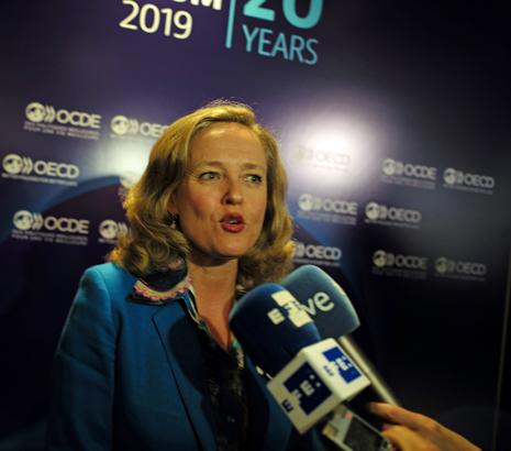20e19 Nadia Calviño en la OCDE
