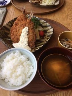 ランチ アジフライ定食
