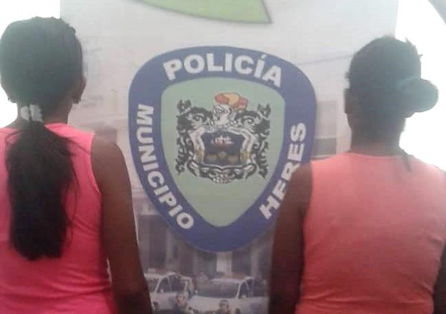 Detienen a dos mujeres que intentan ingresar drogas a calabozos en Bolívar