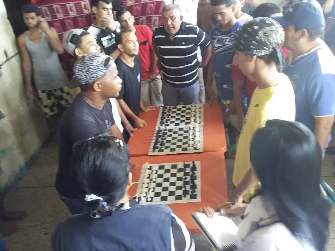 Falcón: Reos de Punto Fijo tuvieron un respirito con campeonato de ajedrez