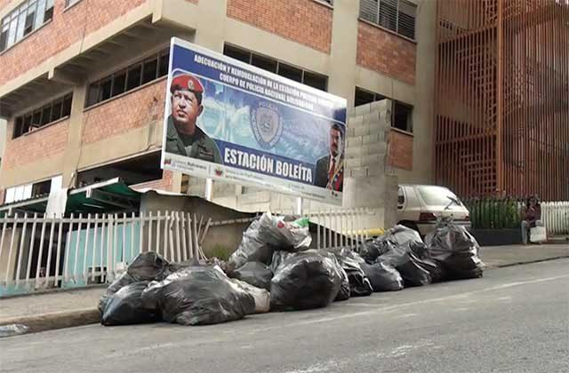 Caracas: Denuncian que Las FAES hicieron requisa en la PNB de Boleíta