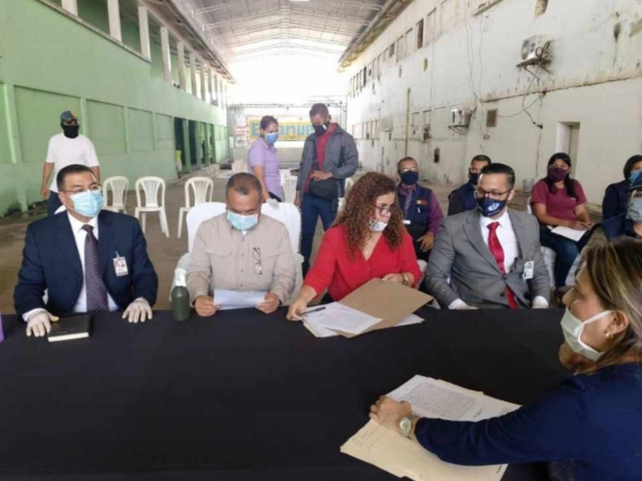 Más de 60 reclusos de la cárcel de Vista Hermosa en Bolívar recibieron beneficio del MPPSP