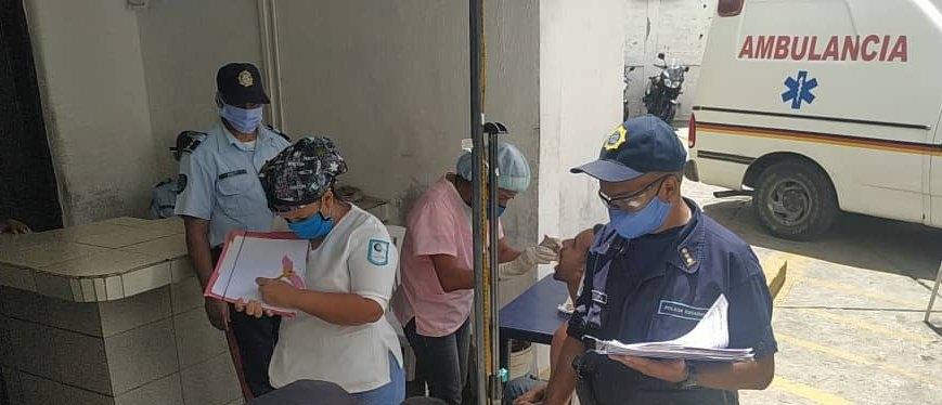 Miranda: Realizan jornada medica nutricional para detenidos de Polimiranda
