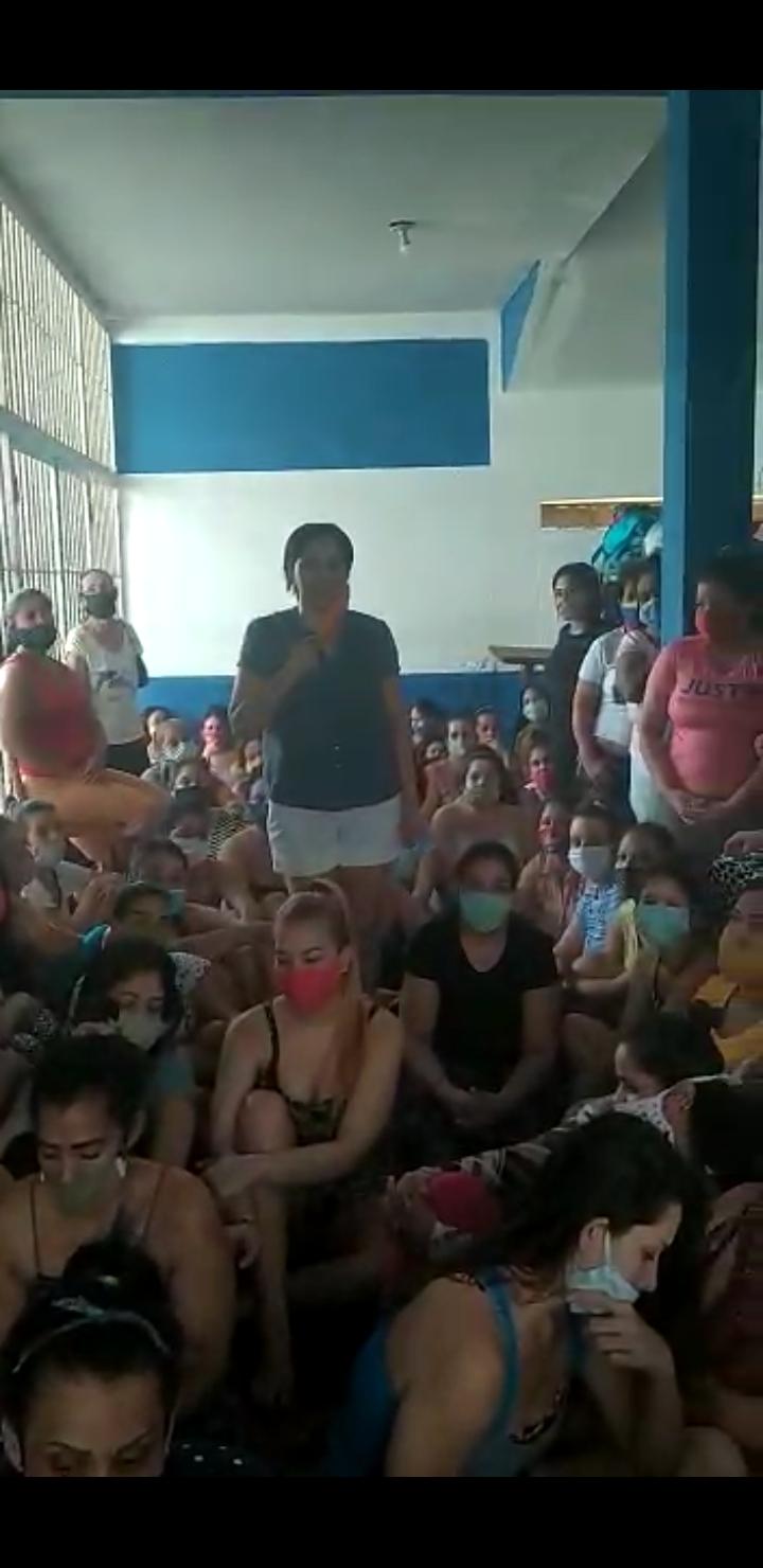 Reclusas del CCP Vizcaíno en San Félix denuncian retraso procesal y hacinamiento