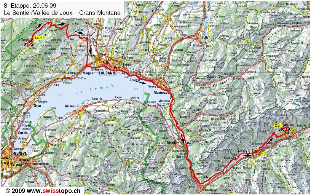 Mapa etapa 8