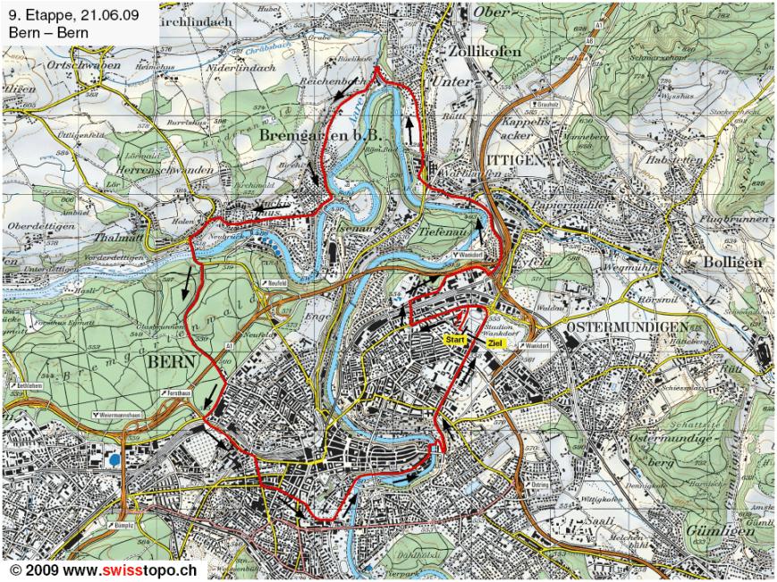 Mapa etapa 9
