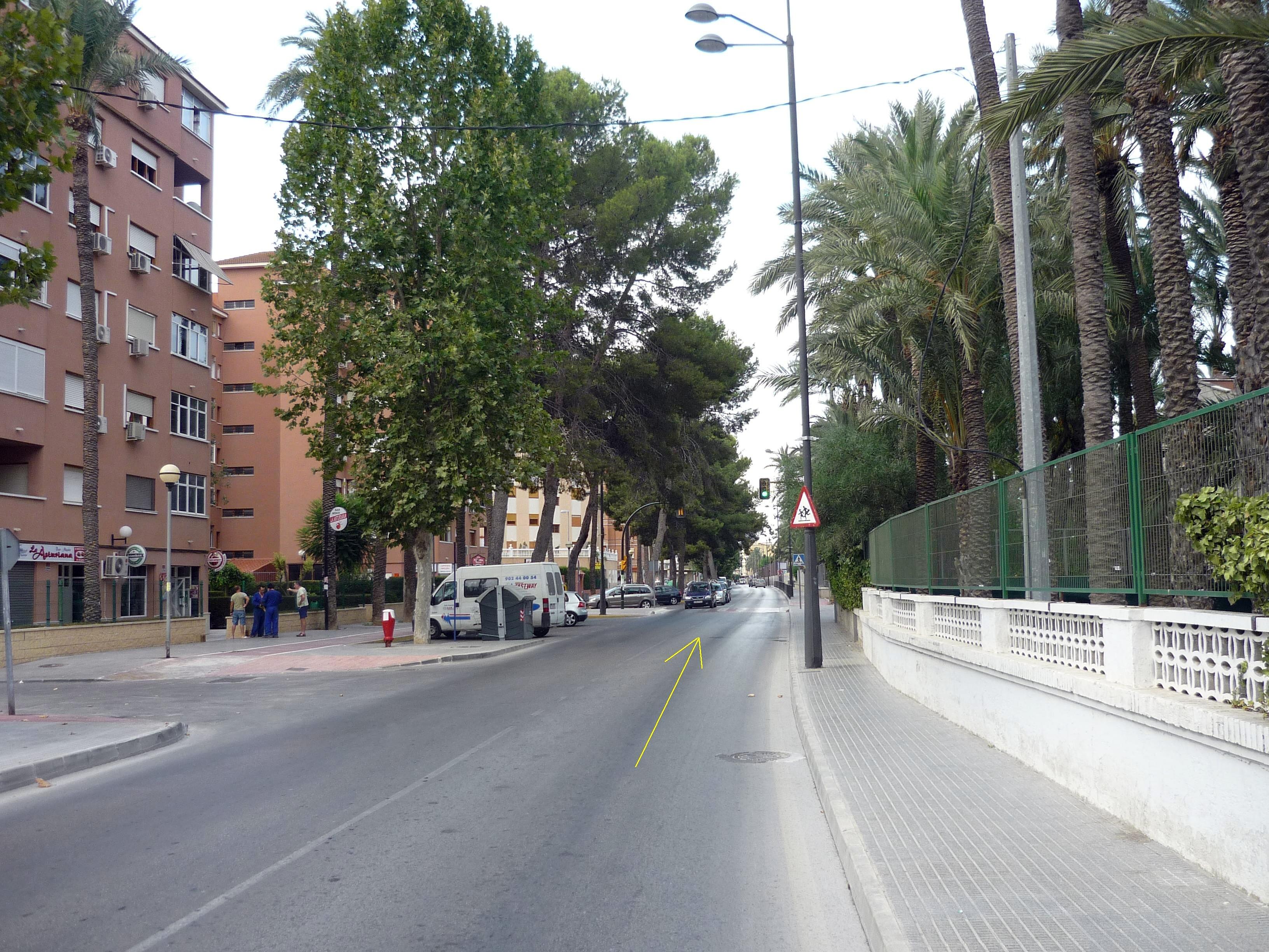 Foto nº10. Entrada en la ciudad.
