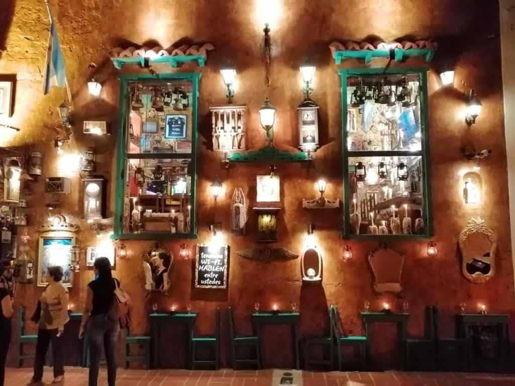 Restaurante en Cartagena de Indias.