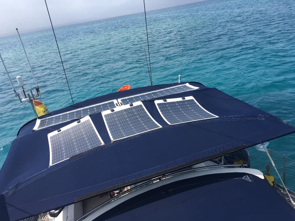 600W en paneles solares.