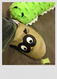 Mini BN chaussons à pas de loulous cuir souple