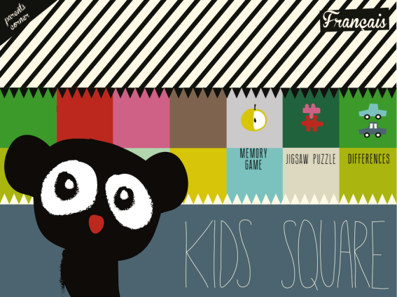 Kids Square application iphone ipad