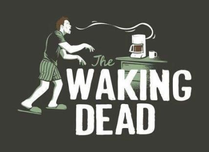 the walking dead coffee