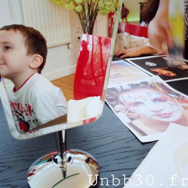 atelier maquillage kinder