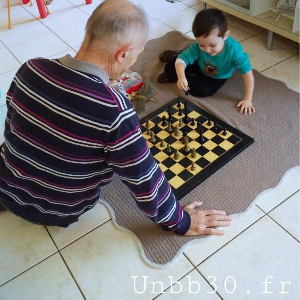 Mini BN joue aux echecs