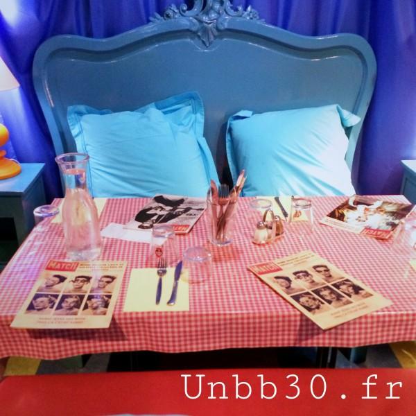 Mamie Bigoude La ROchelle chambre bleue