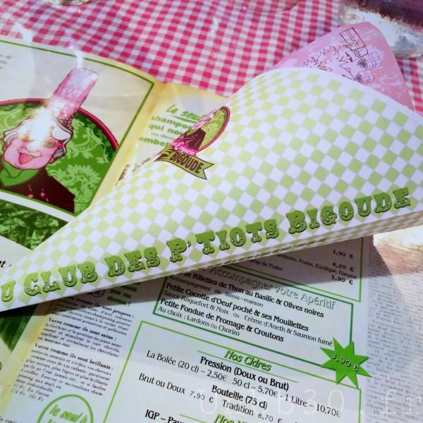 IMamie Bigoude La ROchelle menus enfant