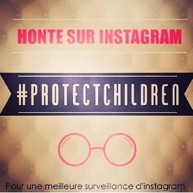 Honte sur Instagram