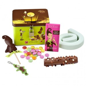 tirelire chocolats enfant deneuville