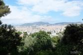 Parc Estienne D'orves vue de Nice