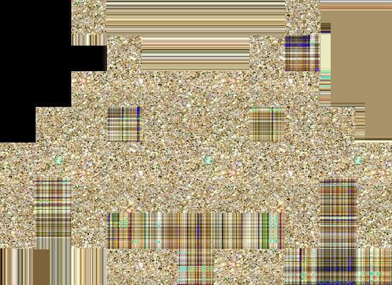 space invader gold