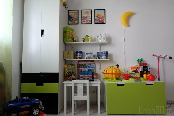 chambre enfant garçon stuva bureau ikea