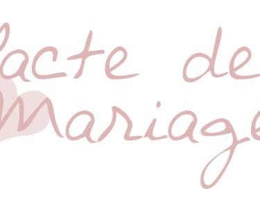 pacte de mariage
