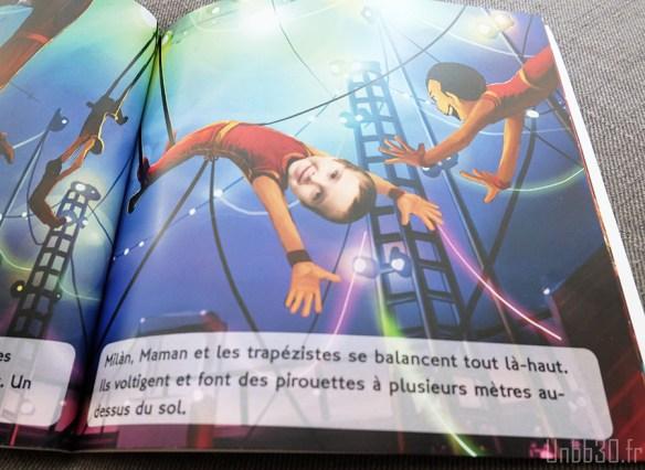 unique editions livre personnalisé cirque