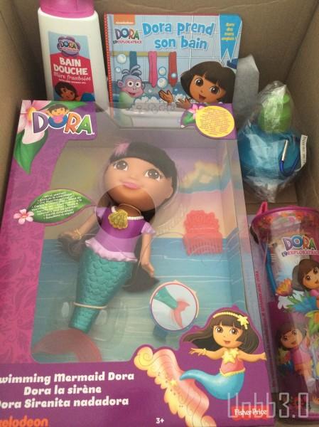 Grandir avec Dora dora sirène