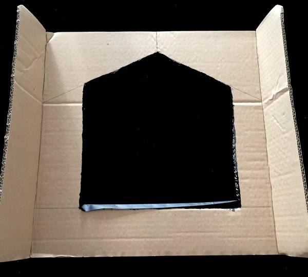 maison pour chat en carton diy