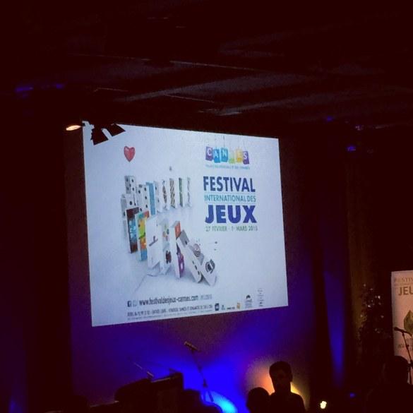 festival des jeux de cannes 2015 cérémonie As d'or