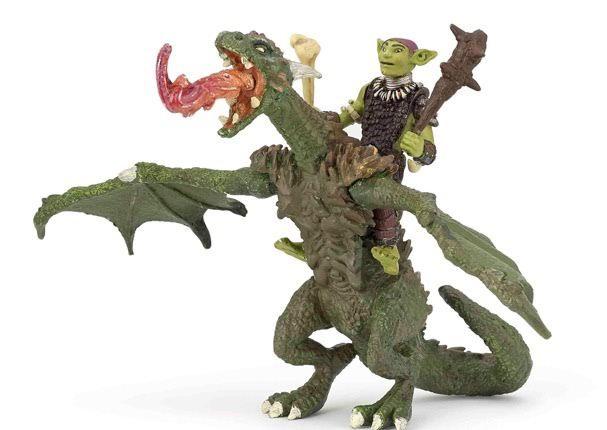 dragon et gobelin articulés