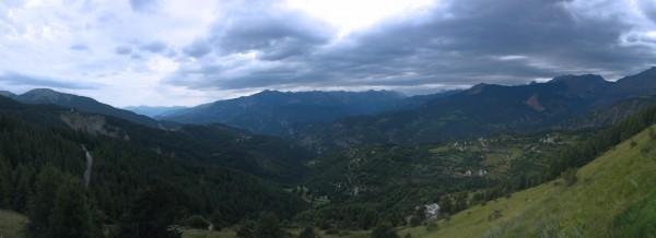 vue depuis Valberg