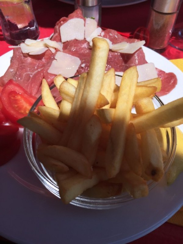 manger en terrasse