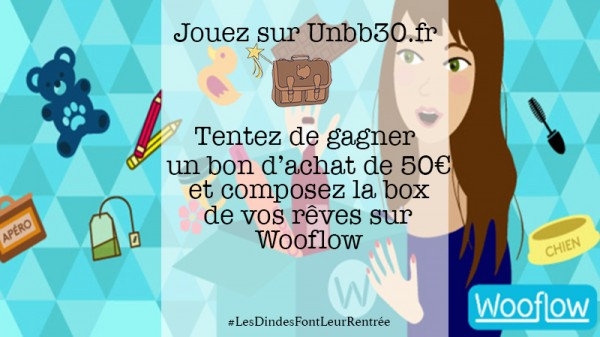 concours wooflow blog