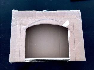 cheminée carton diy1