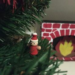 cheminée en carton DIY