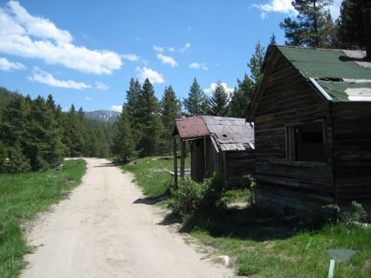 Montana Mining Ghosttown