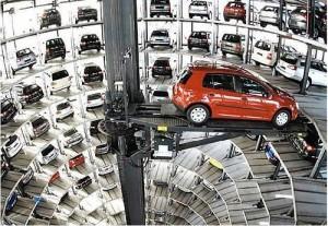 cutting edge parking garage