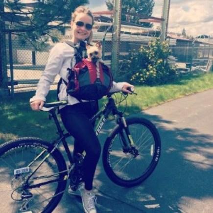 Mountain Biking with Harlie