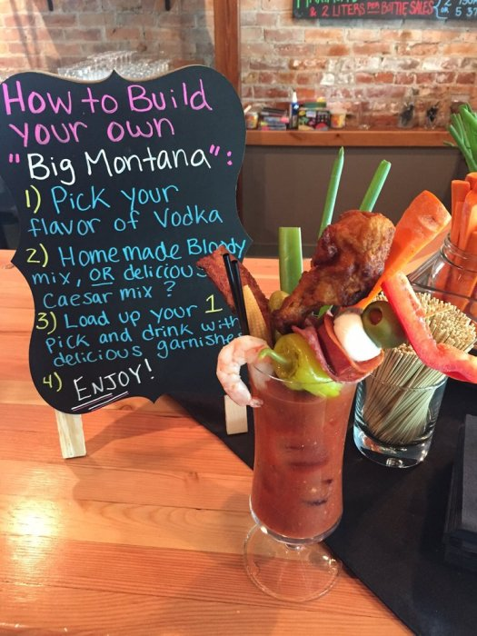Montana Distillery Bloody Mary