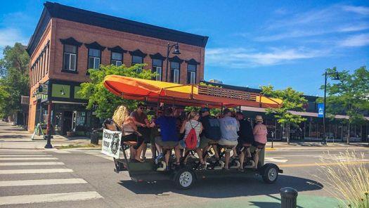 Thirst Gear Bike Trolley Tour
