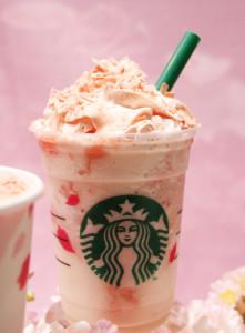 cherry blossom frappuccino