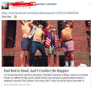 dad bod is dead