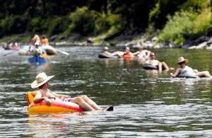 river-float